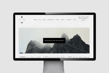 web design inspiration / wordpress, blogging, web design inspiration. simple is key