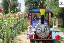 Plimbare cu trenuletul Thomas