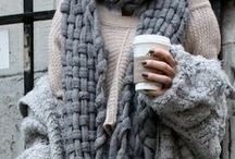 warm and cozy winter style / fashion and style to keep you warm through winter