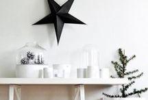 modern holiday / contemporary Christmas decor