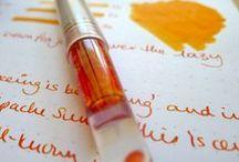 MTN, Calligraphy & Journaling / Midori Traveler's notebook, Calligraphy and Journaling inspiration