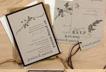 Wedding Stationery / Save the dates and invites for your special day.