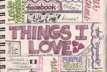 journal and planning / journal * ideas * diary * smash book * scrap book * journaling  Shop: http://en.dawanda.com/shop/citycharms Facebook: http://www.facebook.com/CityZenCharms