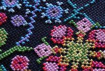Kreuzstich-Inspirationen / Cuss-stitching & Co.
