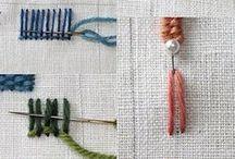 fabric and fibre love / by leah *sangthebird