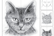 """Art - Punkin Likes To Draw / The """"Human"""" wishes she was plugged into the Matrix and could say... """"I Know How To Draw!!!""""  / by Punkin Pistolero"""
