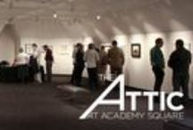 The Attic at Academy Square: The Original Art / The Attic at Academy Square is the Provo City Library's brand new exhibit space dedicated to bringing in the best art, science, and history exhibits from around the country. The Attic at Academy Square is delighted to host The Original Art: Celebrating the Fine Art of Children's Book Illustration as our first exhibit. For more information and gallery hours go to http://www.provolibrary.com/the-attic / by Provo City Library