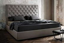 Beds / Featuring Italian made bedroom furnishings from Ivano Redaelli and Frigerio.