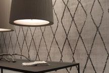 Wallpaper / Exclusively featuring Italian made Indoor, OUT and WET System   wallcoverings by Wall&decò.