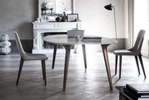 Chairs & Stools / Featuring Italian made chairs and stools from Porada, Softline, Bross, Frigerio and Ivano Redaelli.