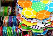 hexagon quilt ♥ / by Sharon K