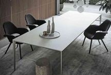 Tables / Exclusively featuring Italian made furnishings from Neutra, Rimadesio and Frigerio.