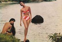summer beach swim