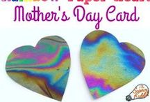 Mother's Day and Father's Day / Gift ideas and learning activities for kids for Mother's Day and Father's Day.