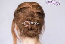 Lilla Rose- Hair Jewelry / Find beautiful and lovely flexi-clips, upins, orings, and more! / by June Fuentes