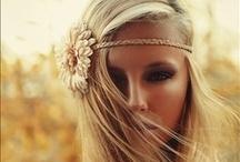 Pretty hair styles & Make up