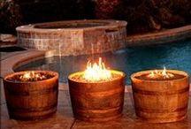 Decor {Back Yard} / Back yard décor, back yard landscaping, outdoor décor, outdoor landscaping, etc.