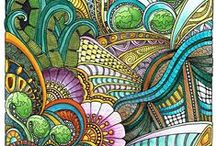 Doodles & Tangles / by Color Waves