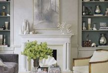 Inspired Keeping Rooms / Located just off the kitchen, a great place for snuggling up with a book or recipes while dinner is cooking.  / by Monica Whaley