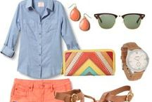 Style {Summer} / Fashion, style, outfits, etc. for summer.