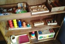 Montessori Home Spaces / Prepared environments in Montessori homes.  *See separate boards for Montessori home nurseries, toddler bedrooms, bedrooms and home school classrooms. / by Rachel B | Racheous - Lovable Learning