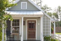 Tiny Home Styles / Minuscule homes with grandiose style! / by Monica Whaley