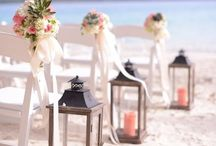 """Beach wedding inspiration / """"I dropped a tear in the ocean, and whenever they find it I'll stop loving you, only then"""" - Anonymous"""