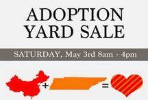 Adoption Garage Sale Fundraiser!