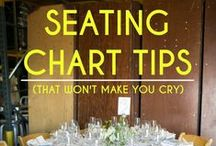 Seating Charts I <3 / No more boring seating charts! Get inspired to do better at your wedding...