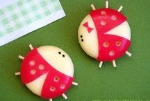 Cute Lunch and Kid Snack Ideas! / by MaryLea @ Pink and Green Mama