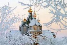 Bulbes et coupoles des églises orthodoxes / http://translate.google.fr/translate?hl=fr&langpair=en|fr&u=http://en.wikipedia.org/wiki/Eastern_Orthodox_church_architecture