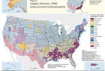 USA dans tous ses E(é)tats - Cartographie - Infographie / by ★@nne★p@sc@le★