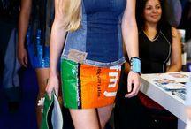 Recycled fashion idea / Hoe hergebruik kleding in de mode.