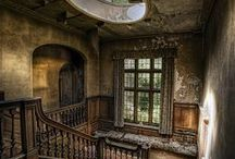 "Urbex Inspiration / ""Urbex"" is a term that describes photographing abandoned and decaying man-made structures."