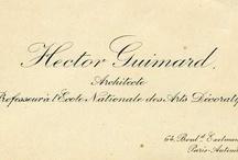 Hector Guimard & les autres