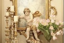 French Decor and Accessories / Extravagant French interiors. Provence style. French Country.  / by Bettina Giancana