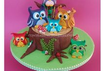 Owl Cakes / by Pat Korn