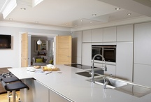 Changing Rooms / The kitchen in this house has been moved to give it a central position in the home.