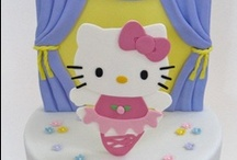 Hello Kitty Cakes / by Pat Korn