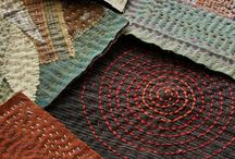 Japanese textile arts / Quilting, sewing and other stitchery in the Japanese tradition. Also see Saori Weaving board.