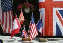 En 2014 - Commémorations WWI & WWII / Le centenaire de la Grande Guerre (1914-1918) & the World War II D-Day invasion of Normandy, France (06.06.1944)