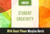 Student Creativity with Guest Pinner MaryLea Harris / Inspiration for educators to bring creativity into their classrooms and curriculum.