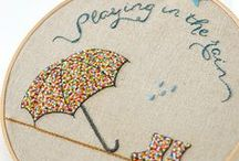 Itch to Stitch / Embroidery/Hand Quilting / by Ashley Webb