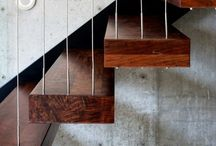 Stairscases / Home style / by Andrea Tramujas Holzmann