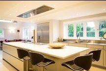 Simple Elegance / A beatifully streamlined kitchen with carefully considered intricate details.