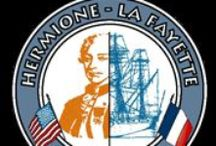 L'Hermione - La Fayette / L'Hermione est un navire de guerre français en service de 1779 à 1783. C'est une frégate de 12 (en référence au calibre de ses canons) portant 34 canons. Elle fait partie des frégates de la classe Concorde, construites à partir de 1777 à l'arsenal de Rochefort.  Elle est connue pour avoir conduit le marquis de La Fayette aux États-Unis en 1780, lui permettant de rejoindre les insurgés américains en lutte pour leur indépendance.