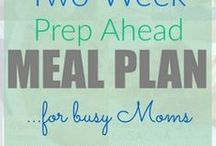 Meal Planning 101 / A group board dedicated to saving you time and money on your family meals!  Come here for already put together plans - just follow them with ease!