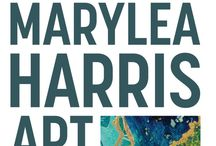 MaryLea Harris ART / Contemporary painter in Bend, Oregon. maryleaharrisart.com