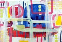 I am an abstract artist / My art, my love
