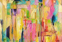 MaryLea Harris Art  - Map Series